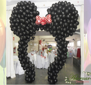Arco de Balões Minnie / Mickey