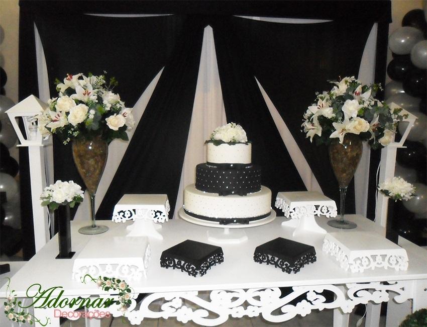Locaç u00e3o Decoraç u00e3o Mesa Provençal Casamento # Decoração Xadrez Preto E Branco