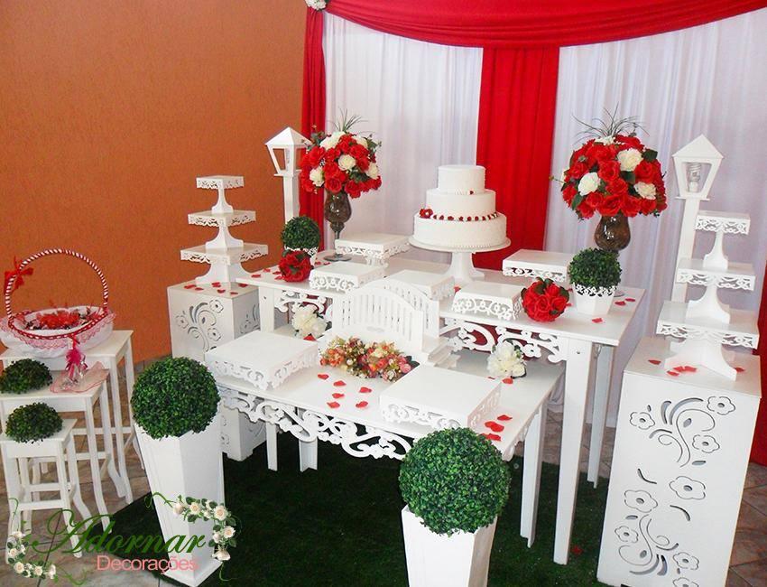 Locação Decoração Mesa Provençal Casamento