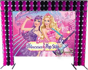 Decoração Barbie Pop Star