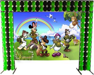 Decoração Disney Safari