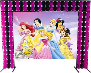 Decoração Princesas Disney